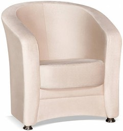 Кресло Цвет Диванов Андорра светло-бе...