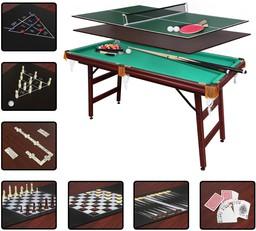 Бильярдный стол Fortuna Пул 5FT 9 В 1