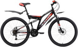 Велосипед Black One Descender FS 26 A...