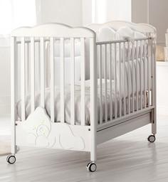 Кроватка Baby Expert Coccolo Lux белы...