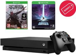 Microsoft Xbox One X 1Tb Black + Home...