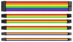 Thermaltake TtMod Sleeve Cable Rainbow