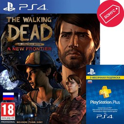 The Walking Dead: A New Frontier PS4 ...