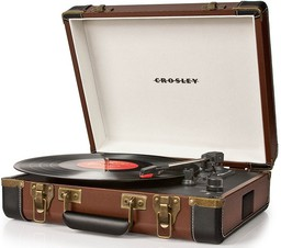 Crosley Executive Deluxe Brown with B...