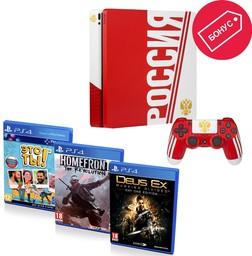 Sony PlayStation 4 Slim 1Tb Сборная Р...