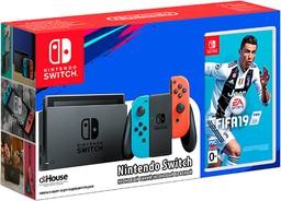 Nintendo Switch Neon Red/Neon Blue + ...