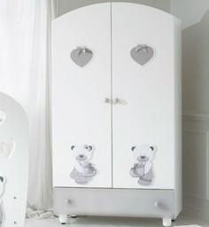 Шкаф Baby Expert Bon Bon белый/серый