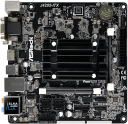 Материнская плата ASRock J4205-ITX 1,...