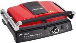Гриль Аксинья КС-5210 черный/красный