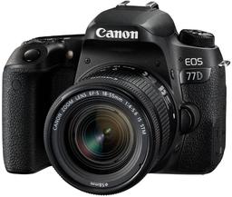 Фотоаппарат Canon EOS 77D Kit EF-S 18...