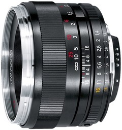 Zeiss PPlanar T* 1.4/50 ZF.2 50mm f/1.4…