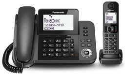 Радиотелефон Panasonic KX-TGF310 Black