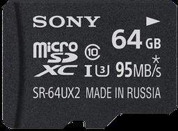 Sony SR-64UX2 UHS-I U3 microSDXC Clas...