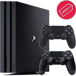 Sony PlayStation 4 Pro 1Tb Black + 2 дж…