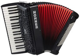 Hohner The New Bravo III 96 Bla...