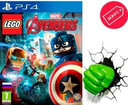 Lego Marvel Мстители PS4 русские субт...