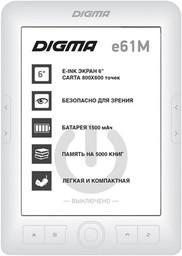 "Электронная книга Digma E61M 6"" 4Gb W..."