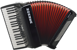 Hohner The New Bravo III 80 Bla...