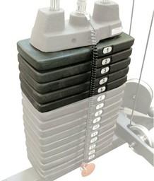 Body-Solid 22,5 кг (5 плашек)