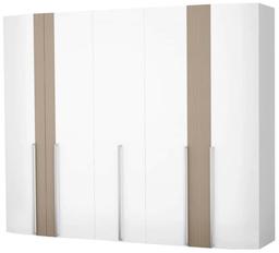 Шкаф Интердизайн Токио белый/коричнев...