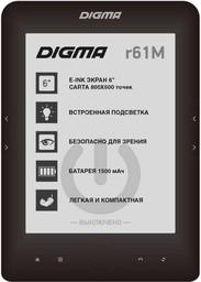 "Электронная книга Digma R61M 6"" 4Gb B..."