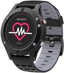 Умные часы No.1 F5 Black/Grey