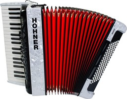 Hohner The New Bravo III 96 Whi...