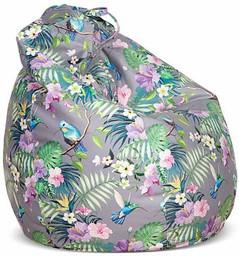 Кресло-мешок Цвет Диванов Груша серый...