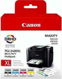 Canon PGI-2400XL Multipack Black, Cya...