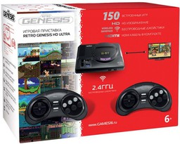 Sega Retro Genesis HD Ultra 150-in-1