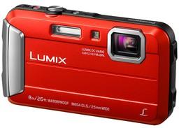Фотоаппарат Panasonic Lumix DMC-FT30 Red
