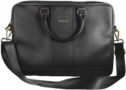 "Guess Saffiano Look 15"" Black"