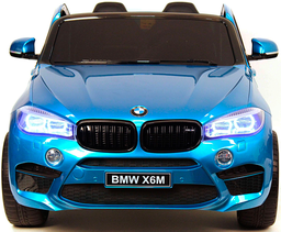 Электромобиль Barty BMW X6M Blue (дву...