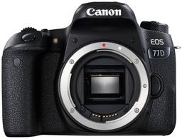 Фотоаппарат Canon EOS 77D Body Black