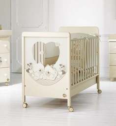 Кроватка Baby Expert Carezza кремовый