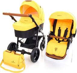 Коляска Venicci Gusto Yellow 2в1