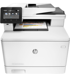 МФУ HP Color LaserJet Pro 400 MFP M47...