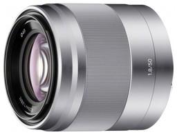 Sony E 50mm f/1.8 OSS Silver SEL-50F18