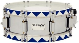 Gewa Marching Small Drum Steel Chrome...