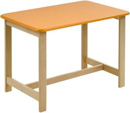 Стол Geuther Pepino оранжевый/натурал...