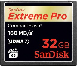 SanDisk Extreme Pro Compact Flash 32Gb