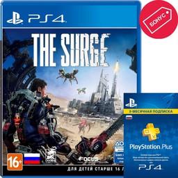 The Surge PS4 русские субтитры + PS P...