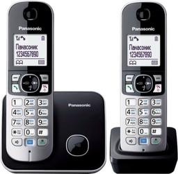 Радиотелефон Panasonic KX-TG6812 Black