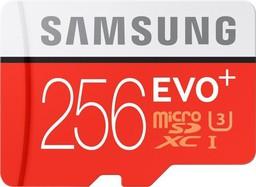 Карта памяти Samsung Evo Plus 256Gb
