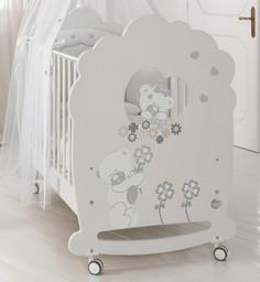 Кроватка Baby Expert Serenata белый