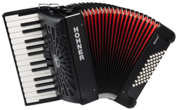 Hohner The New Bravo II 48 Blac...