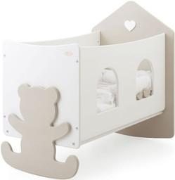 Кроватка Baby Expert Casetta Top бело...