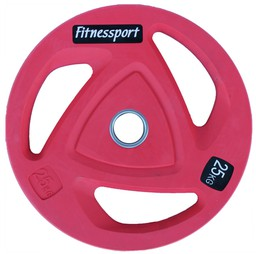 Диск FitnesSport RCP-20 25 кг красный