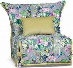 Кресло-кровать Цвет Диванов Гейша сер...