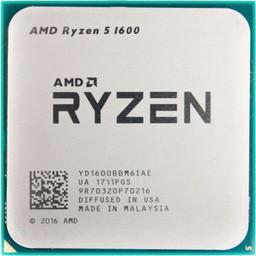 Процессор (CPU) AMD Ryzen 5 1600 3.2GHz